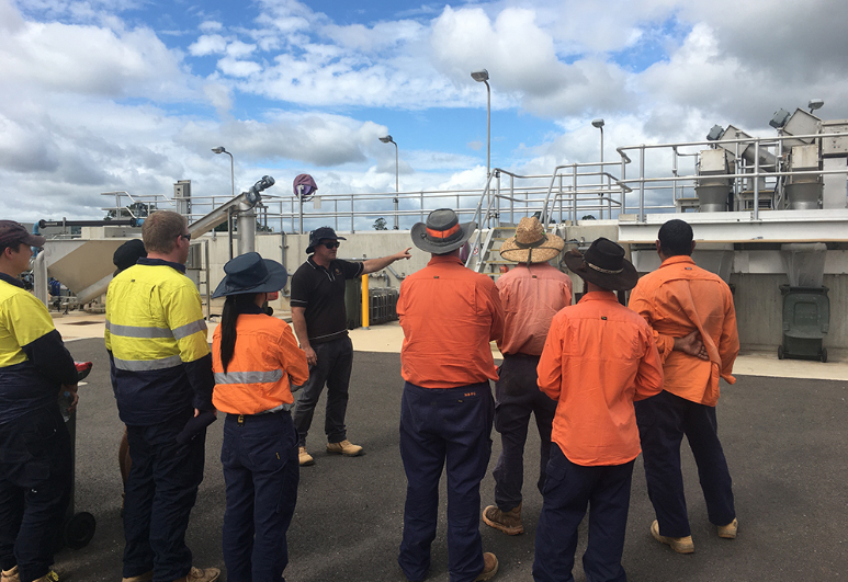 Operators join together for Water Treatment training